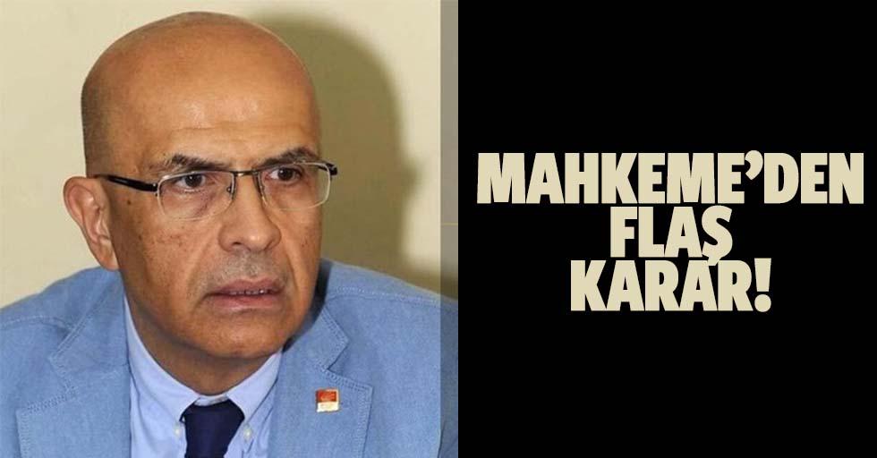 CHP Milletvekili Enis Berberoğlu hakkında yeni karar