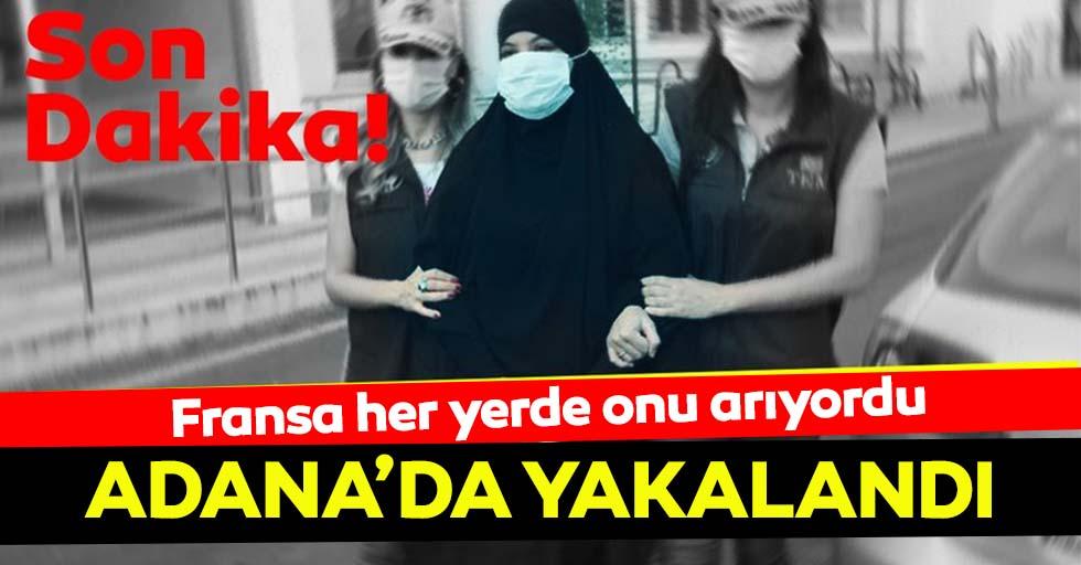 DEAŞ üyesi Soumaya Raissi, Adana'da yakalandı
