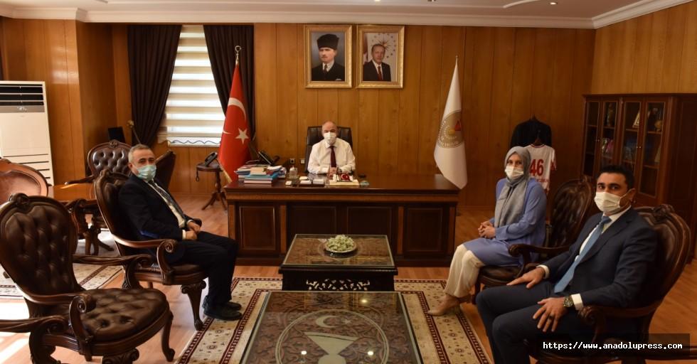 Deva Partisi'nden Vali Ömer Faruk Coşkun'a ziyaret