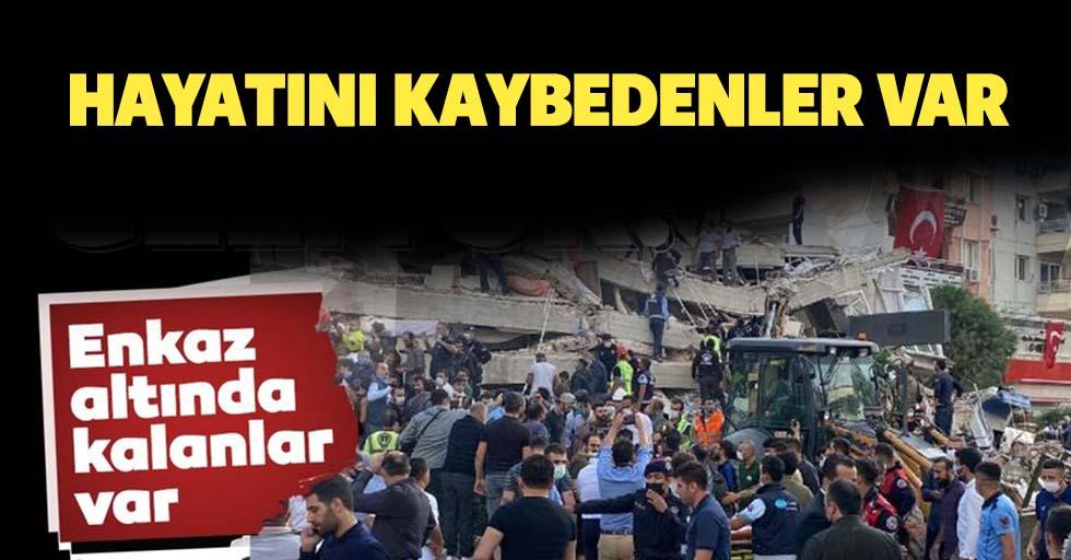İzmir'deki deprem sonrası 4 kişi hayatını kaybetti 120 kişi yaralandı!