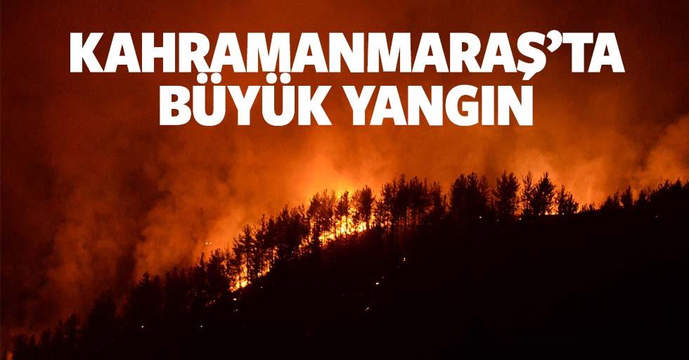 Kahramanmaraş'ta büyük yangın