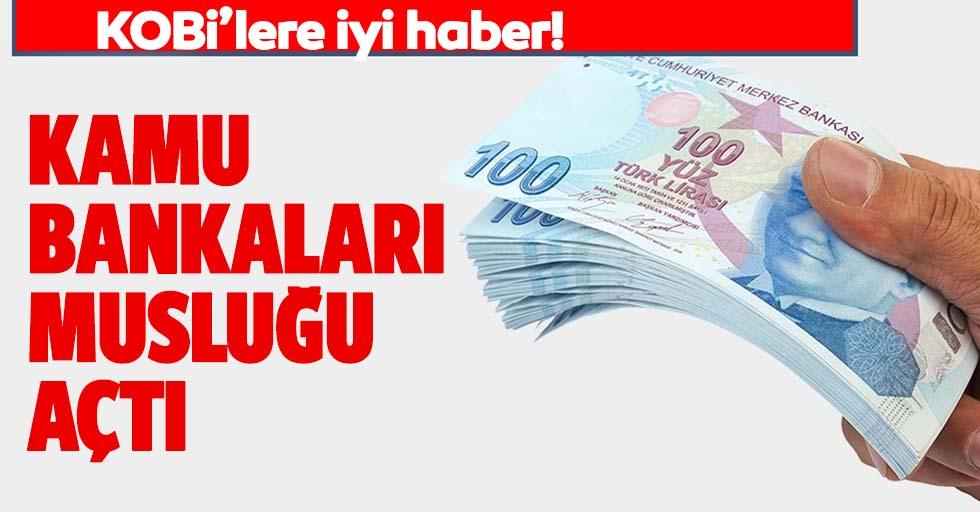 KOBİ'lere müjde! Ziraat Bankası, Halkbank ve Vakıfbank'tan yeni destek paketi!