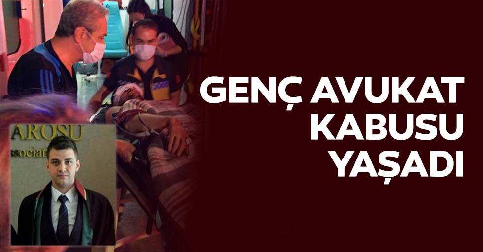Konya'da bıçaklı saldırıya uğrayan genç avukat sol gözünü kaybetti