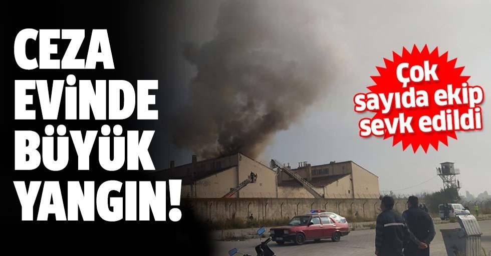 Kütahya cezaevinde yangın paniği!