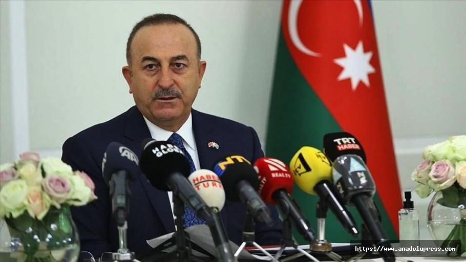 Bakan Çavuşoğlu ateşkesi yine bozarlarsa bedelini öderler