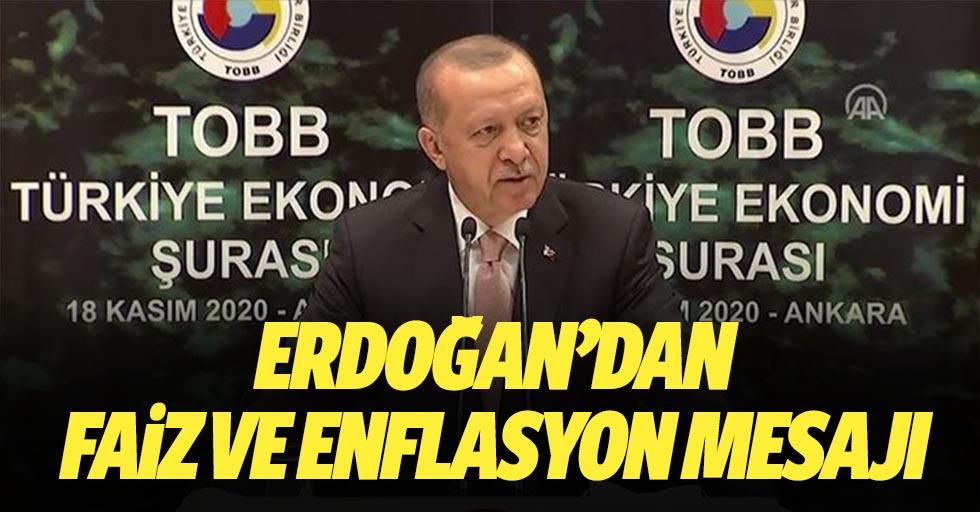 Başkan Erdoğan'dan TOBB Ekonomi Şurası'nda önemli açıklamalar