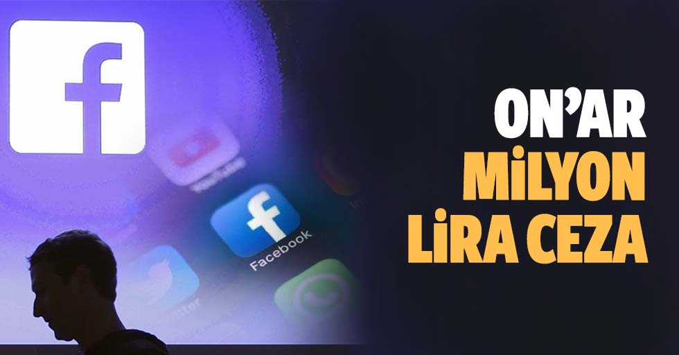 Facebook, Instagram, Twitter dahil sosyal medya platformlarına 10'ar milyon lira ceza