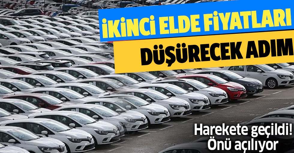 İkinci el otomobil fiyatlarını düşürecek adım! Hükümet düğmeye bastı, önü açılıyor