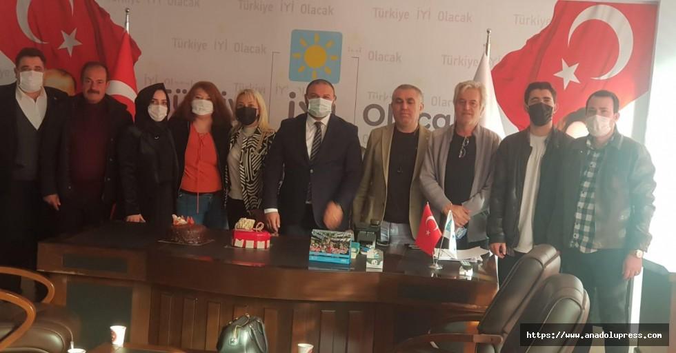 İYİ Parti ilbaşkanı Ahmet Çabukel sağlığına kavuştu