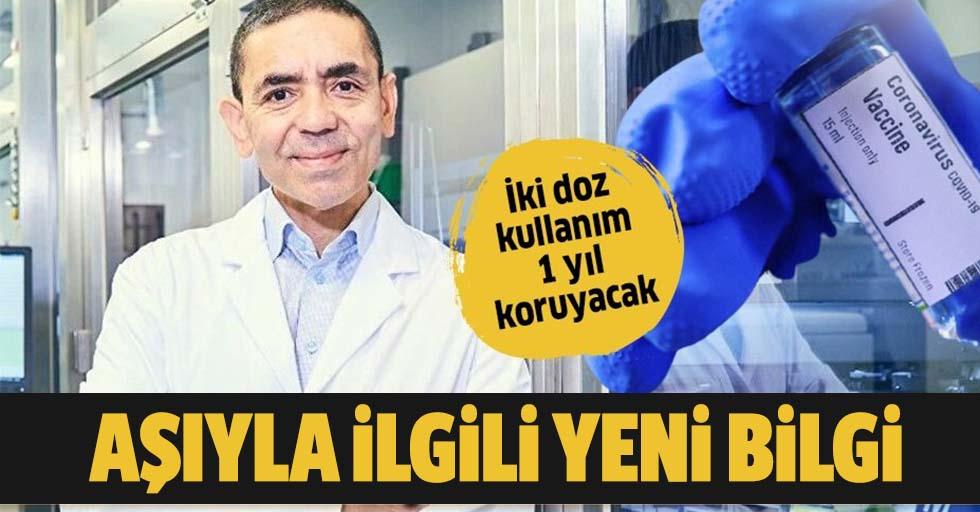 Koronavirüs aşısını bulan Prof. Dr. Uğur Şahin ile eşi Dr. Özlem Türeci aşıya çok güveniyor