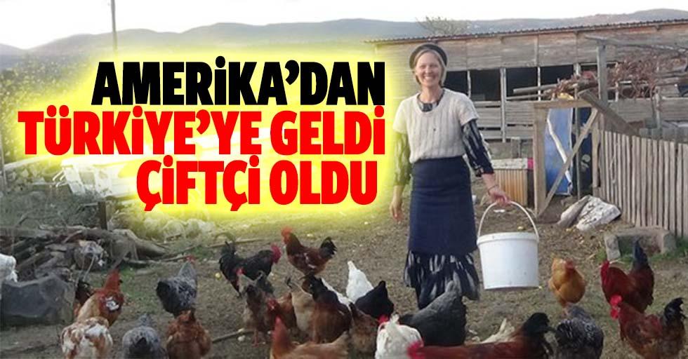 Amerika'dan Türkiye'ye Geldi, Çiftçi Oldu