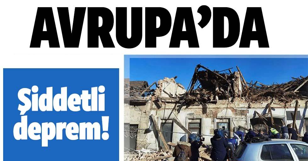 Avrupa'da şiddetli deprem! 6,3 ile sarsıldı