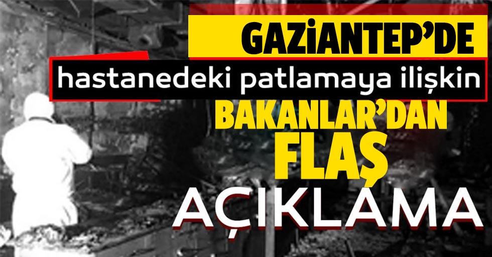 Bakanlar'dan Gaziantep açıklaması