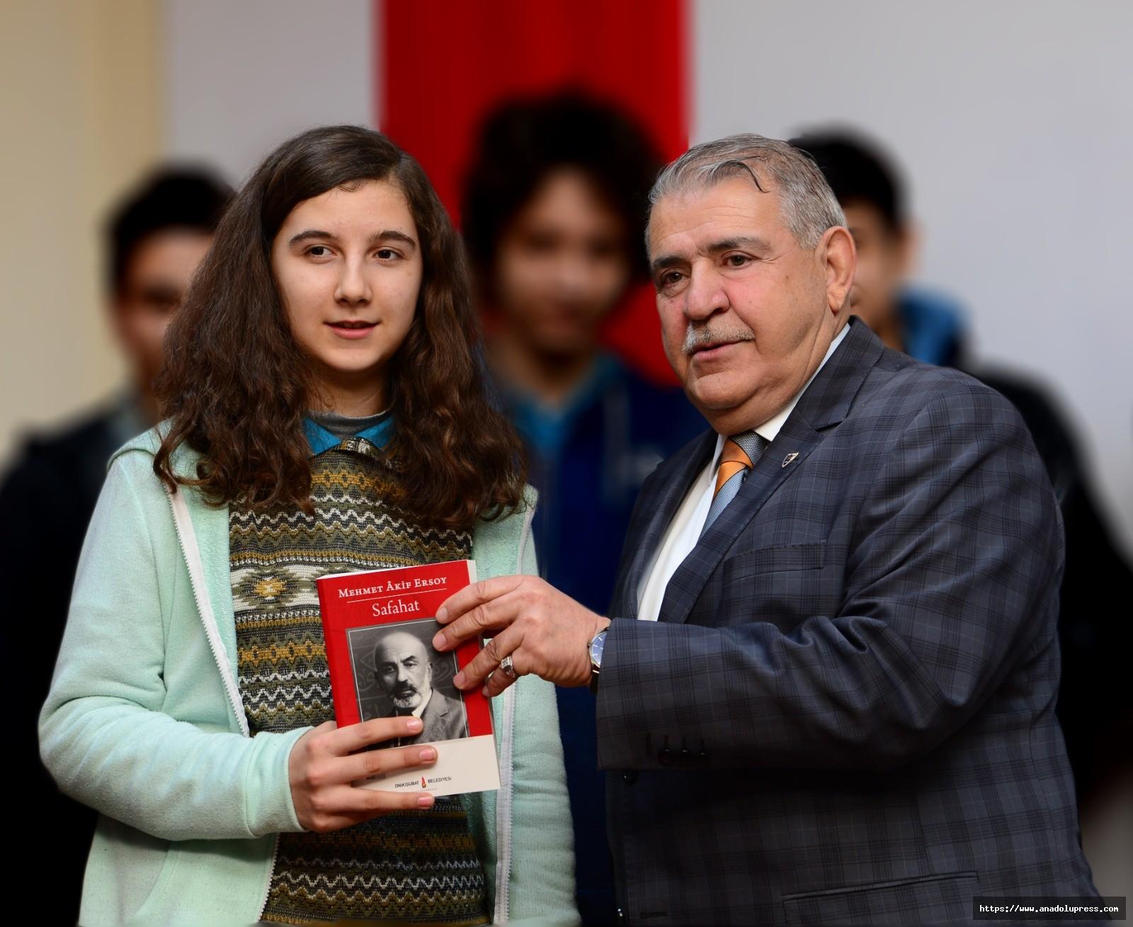 Başkan Mahçiçek, Mehmet Akif Ersoy'u Andı
