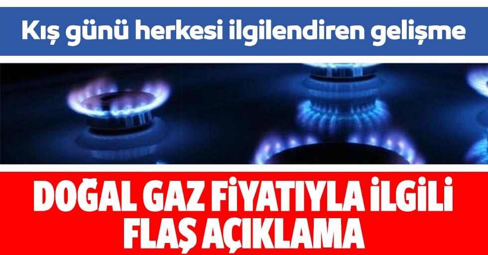 Doğal gaz fiyatlarıyla ilgili önemli açıklama: BOTAŞ duyurdu...