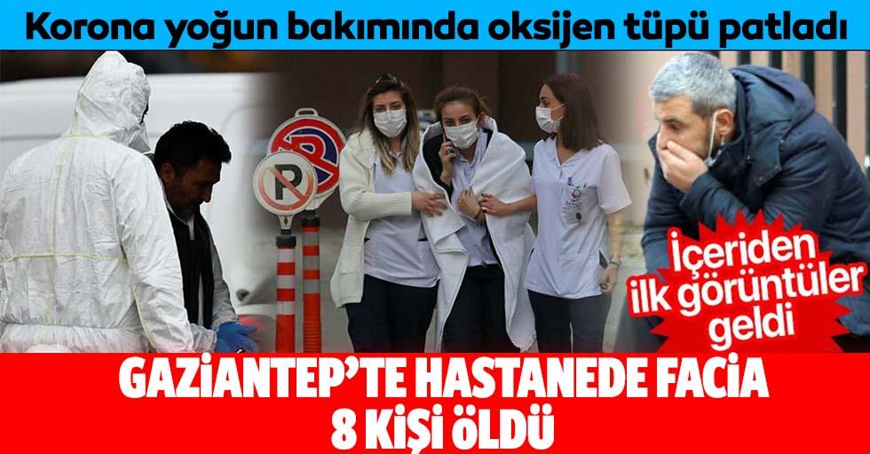 Gaziantep'te hastanede facia, 8 kişi öldü