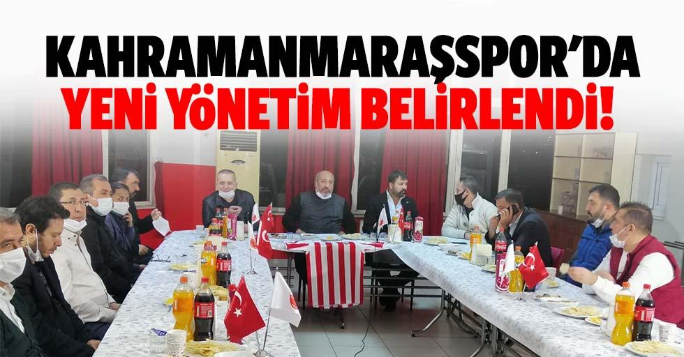 Kahramanmaraşspor'da yeni yönetim belirlendi!