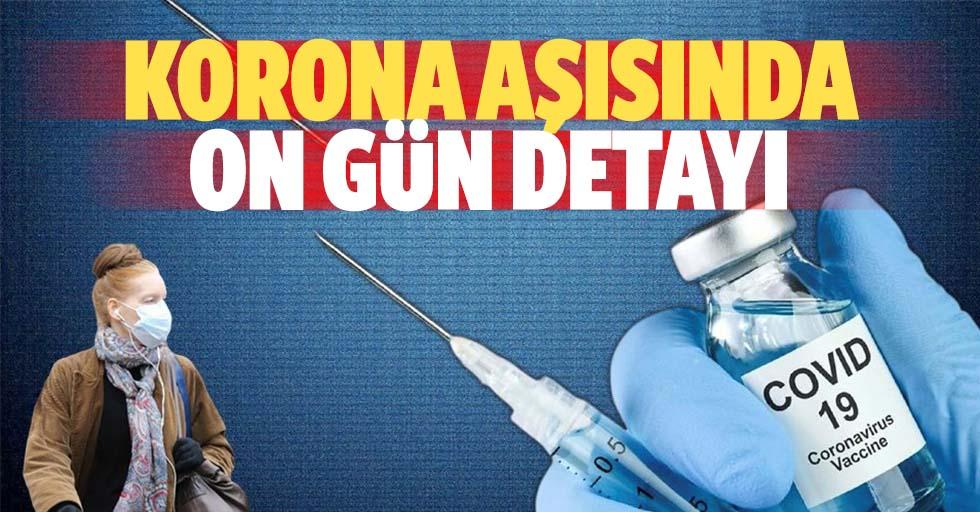 Koronavirüs aşısında dikkat çeken 10 gün detayı!