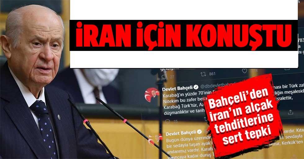 MHP lideri Bahçeli'den İran'ın alçak tehditlerine sert tepki