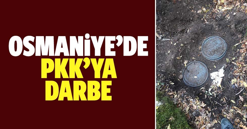 Osmaniye'de PKK'ya darbe