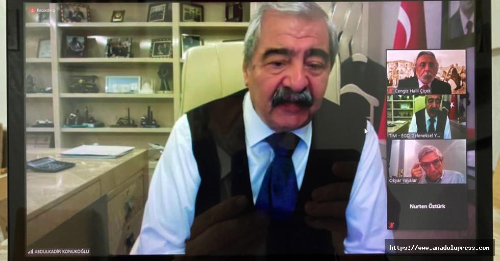 SANKO Holding onursal başkanı Konukoğlu'na vefa ödülü