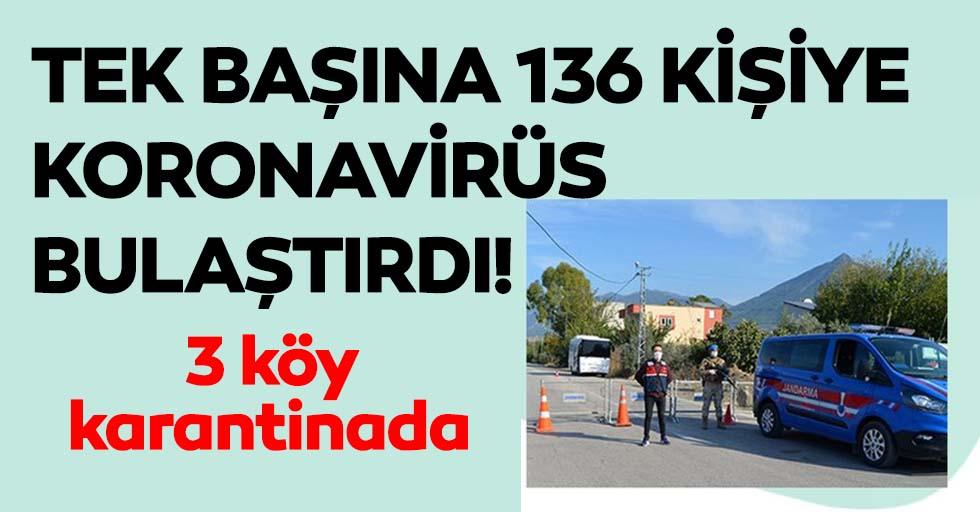 Tek başına 136 kişiye koronavirüs bulaştırdı!