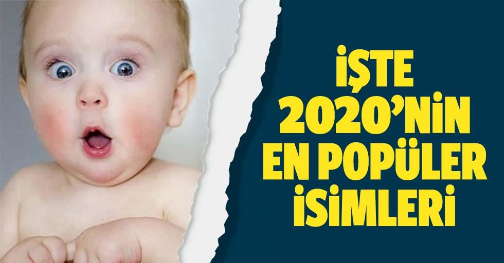 Bakanlık listeyi açıkladı! Türkiye'de 2020 yılının en çok tercih edilen isimleri!