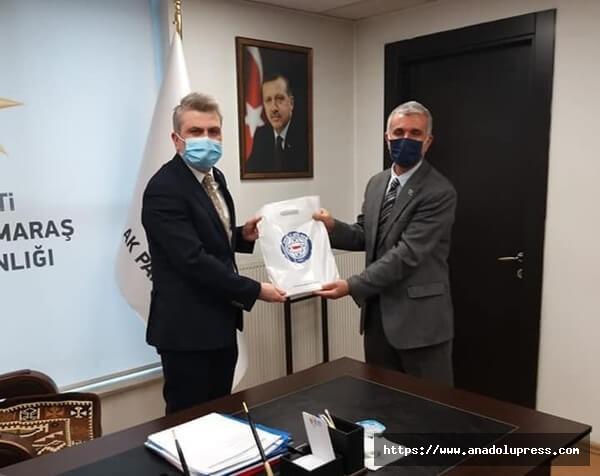 Başkan Ejder Akbaş'tan Ak Parti Teşkilatı ve Teiaş'a Ziyaret
