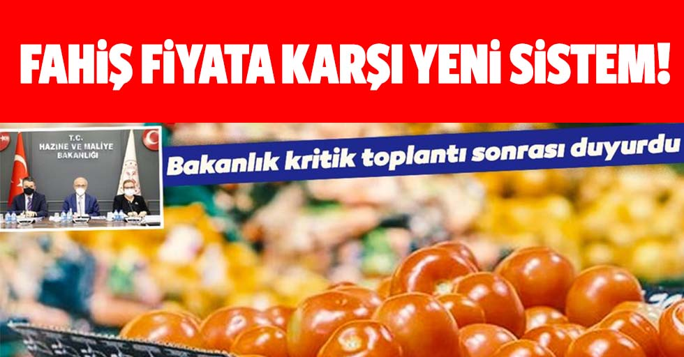 Gıdada fahiş fiyata karşı yeni sistem!