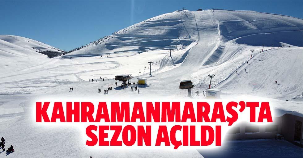 Kahramanmaraş'ta sezon açıldı