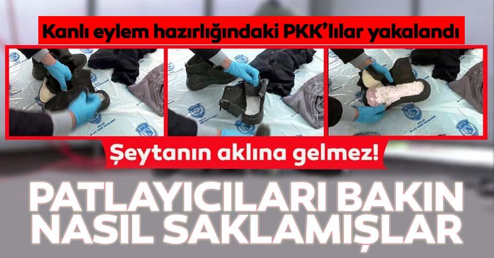 Mardin'de kanlı eylem planlayan teröristler yakalandı!