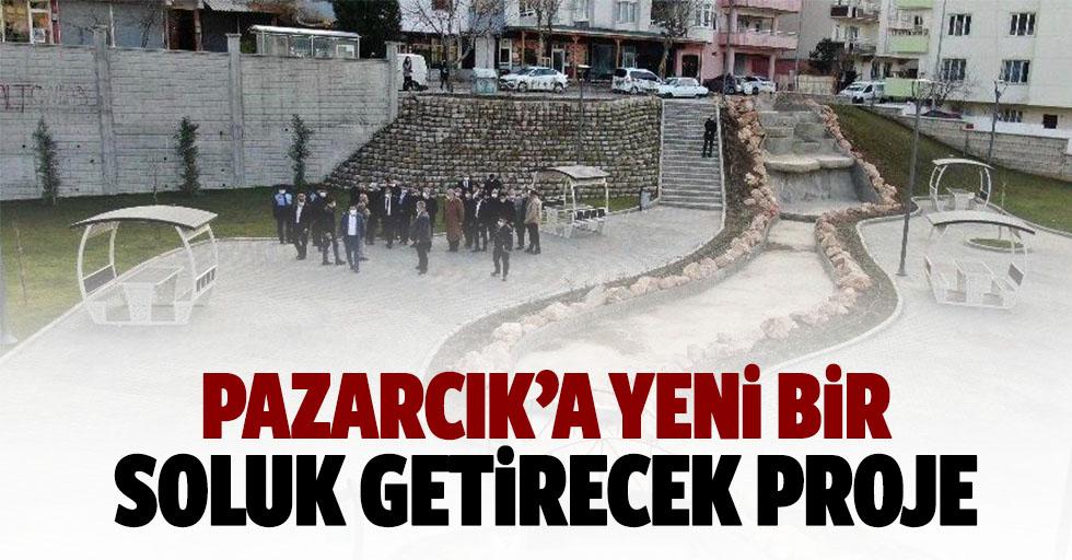 Pazarcık'a Yeni Bir Soluk Getirecek Proje
