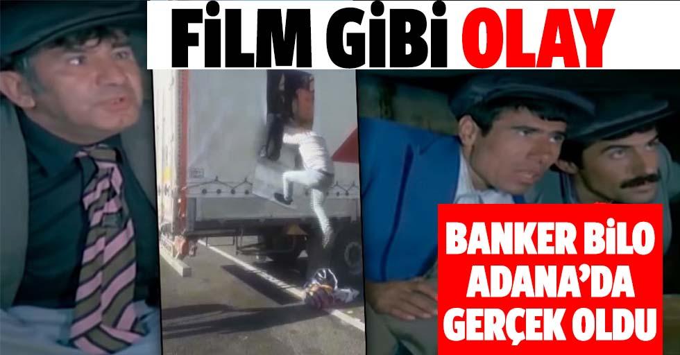 Yeşilçam filmi 'Banker Bilo' Adana'da gerçek oldu