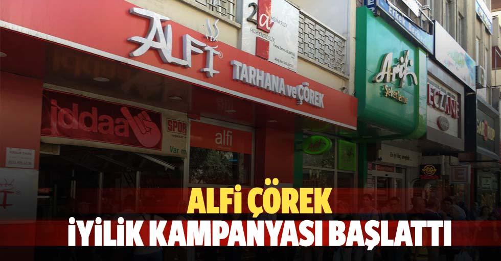 ALFİ çörek iyilik kampanyası başlattı