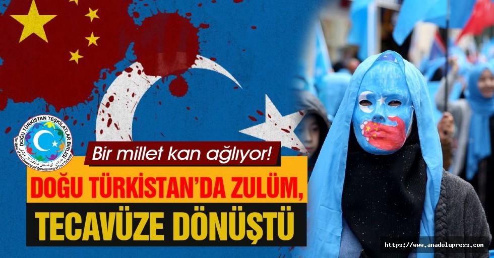 Doğu Türkistan'da Zulüm, Tacize Ve Tecavüze Dönüştü