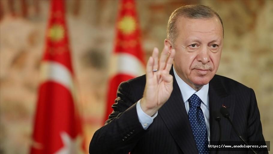 Erdoğan: Provokatörler Vasıtasıyla Ülkemizin Huzurunu Kaçırmaya Çalışanlar Hüsrana Uğrayacaklardır