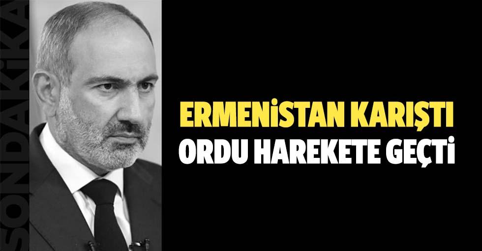 Ermenistan karıştı! Ordu Nikol Paşinyan'ın istifasını istedi