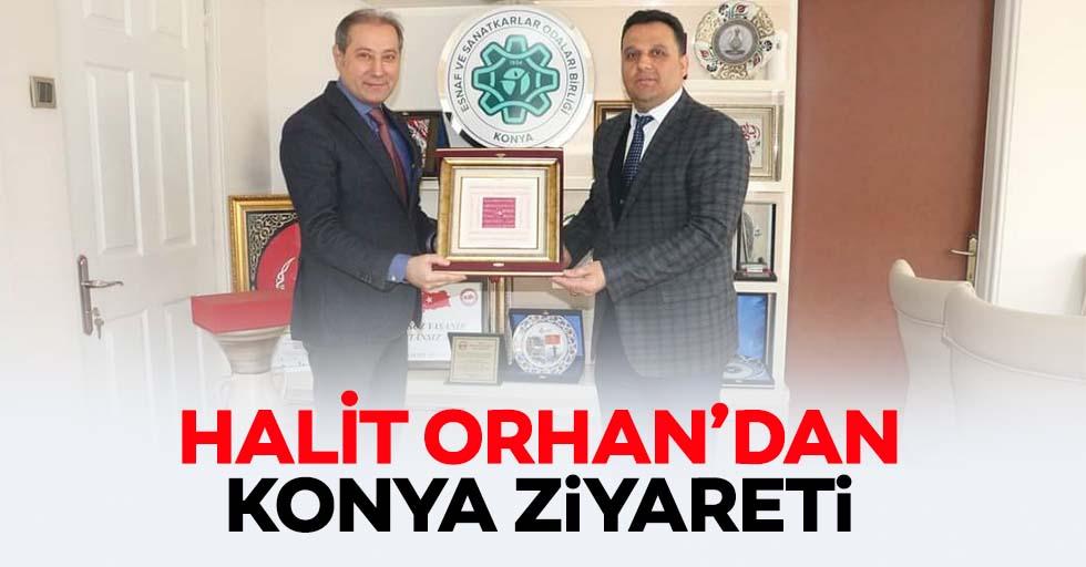 Halit Orhan'dan Konya ziyareti