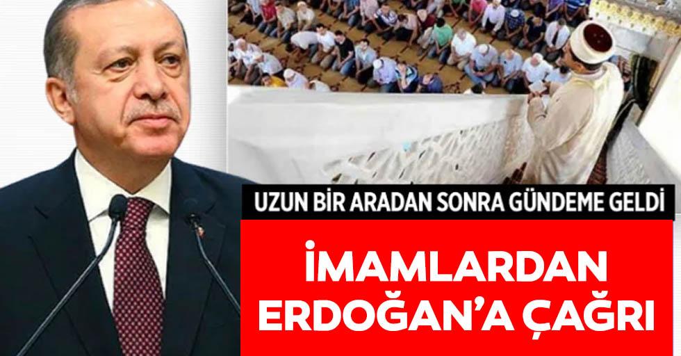 İmamlardan Erdoğan'a çağrı
