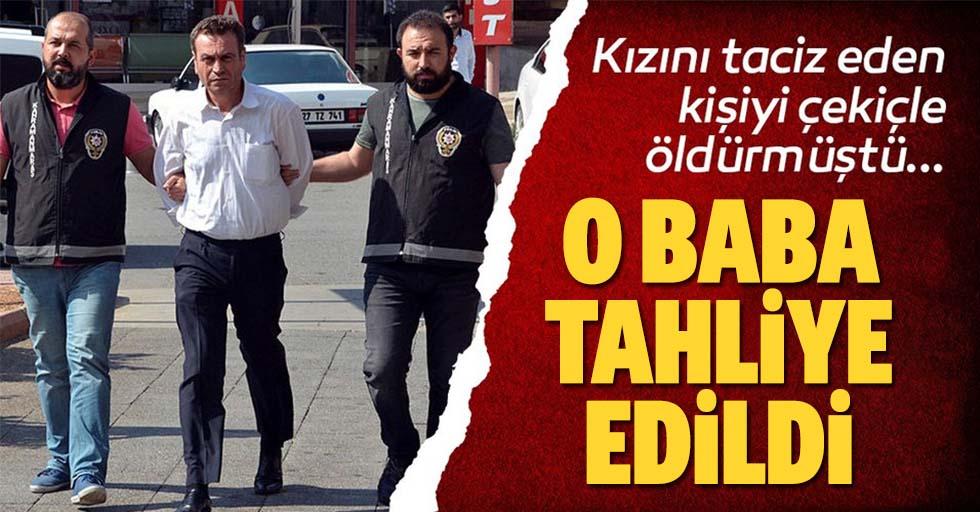 Kahramanmaraş'ta kızını taciz ettiği ileri sürülen kişiyi öldüren babanın tahliyesine karar verildi