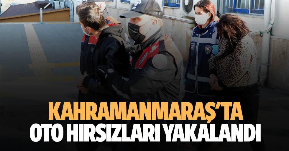 Kahramanmaraş'ta oto hırsızları yakalandı