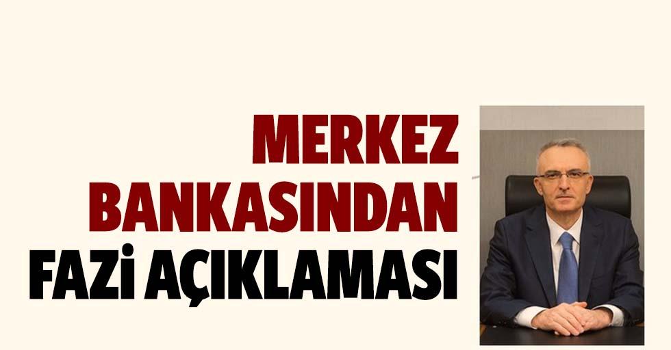 Merkez Bankası Başkanı Naci Ağbal'dan kritik faiz açıklaması