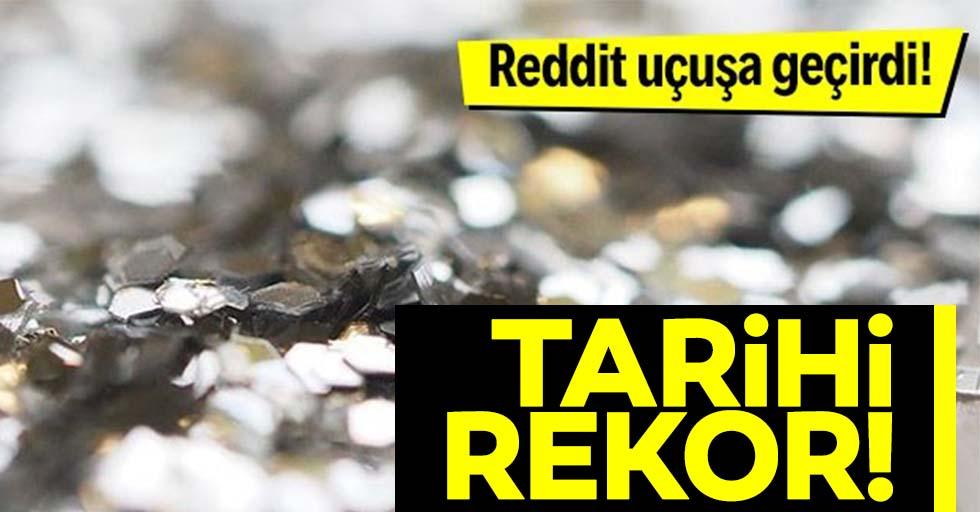 Reddit uçuşa geçirdi! Gümüş fiyatlarında tarihi rekor!