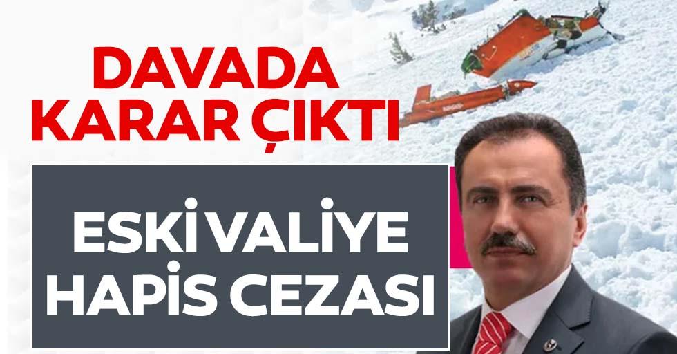 Yazıcıoğlu davasında eski valiye hapis