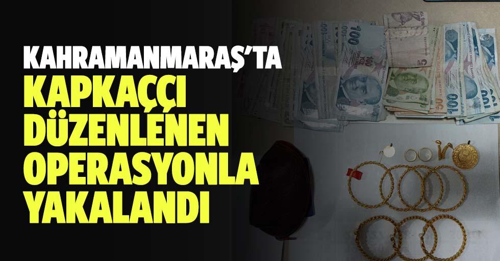 Kahramanmaraş'ta Kapkaç Yapan Zanlı Düzenlenen Operasyonla Yakalandı