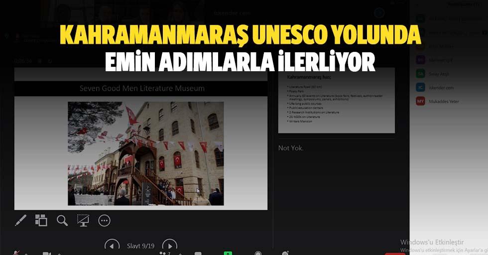 Kahramanmaraş Unesco Yolunda Emin Adımlarla İlerliyor