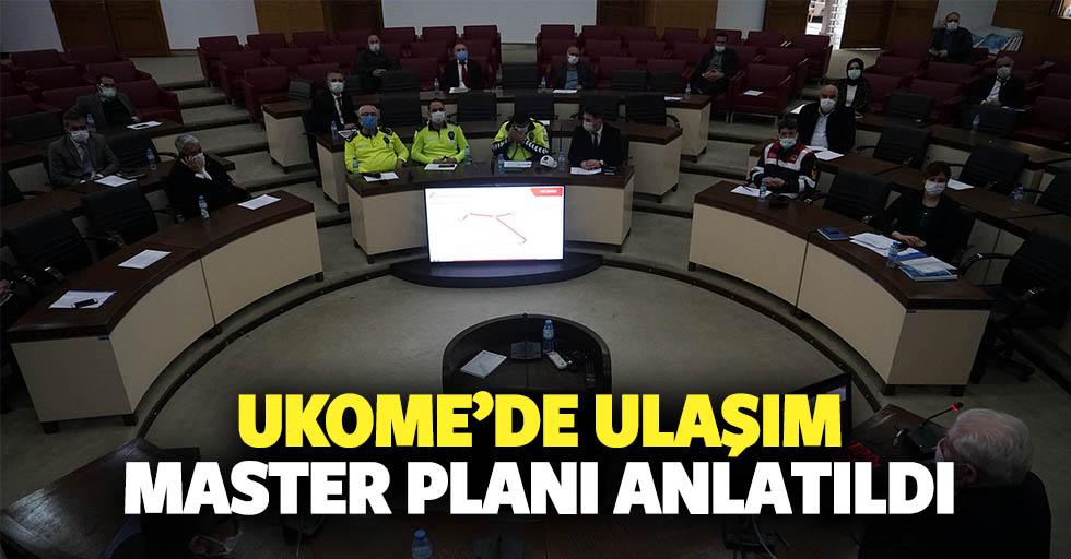 Ukome'de Ulaşım Master Planı Anlatıldı