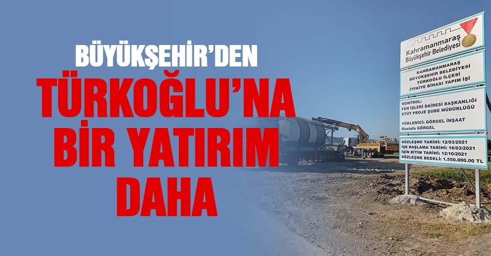 Büyükşehir'den Türkoğlu'na Bir Yatırım Daha