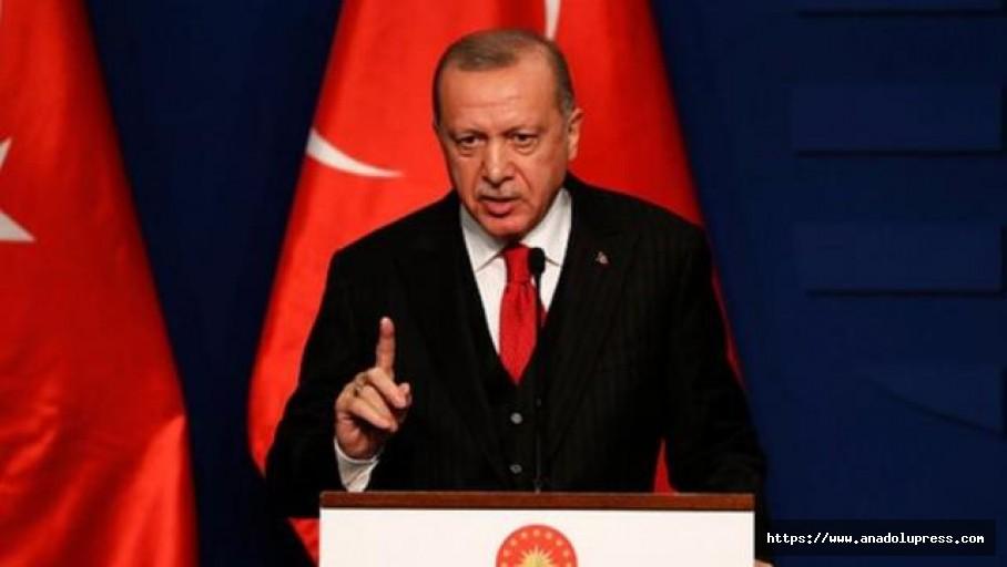 Cumhurbaşkanı Erdoğan'dan ilk kez konuştu, Kesinlikle art niyetli bir bildiri
