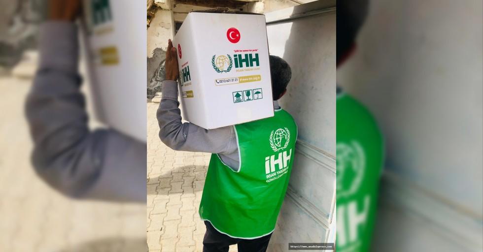 İHH'dan Afşin'de ihtiyaç sahiplerine ramazan yardımı